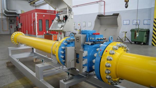 Строительство узлов учета газа